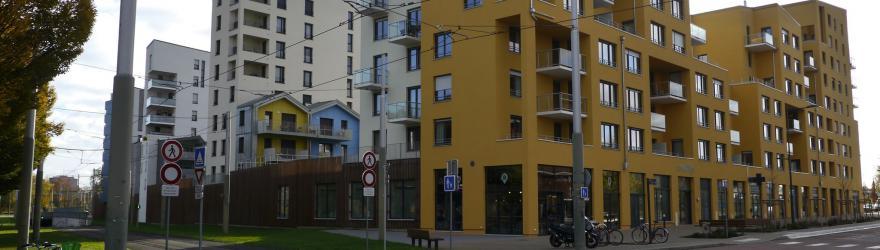La Rotonde, nouvelle cité-dortoir