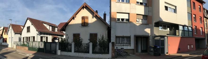 Pierres, blocs, colombages : une architecture hétéroclite