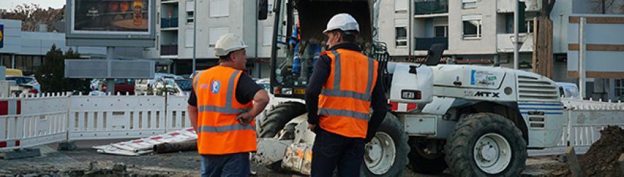 Le chantier d'extension du tramwayhérisse les commerçants