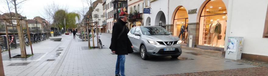 Voiture à Strasbourg : les candidats pas sur la même voie