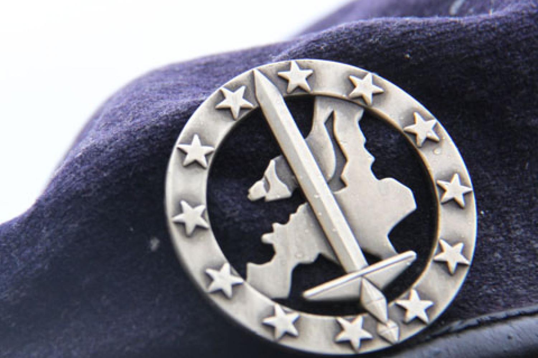 L'écusson de l'Eurocorps crédits photos R.G et G.L