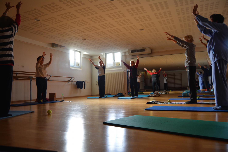 Chaque semaine, ils sont une dizaine à participer à ce cours. La plupart ont déjà quelques années de pratique derrière eux.