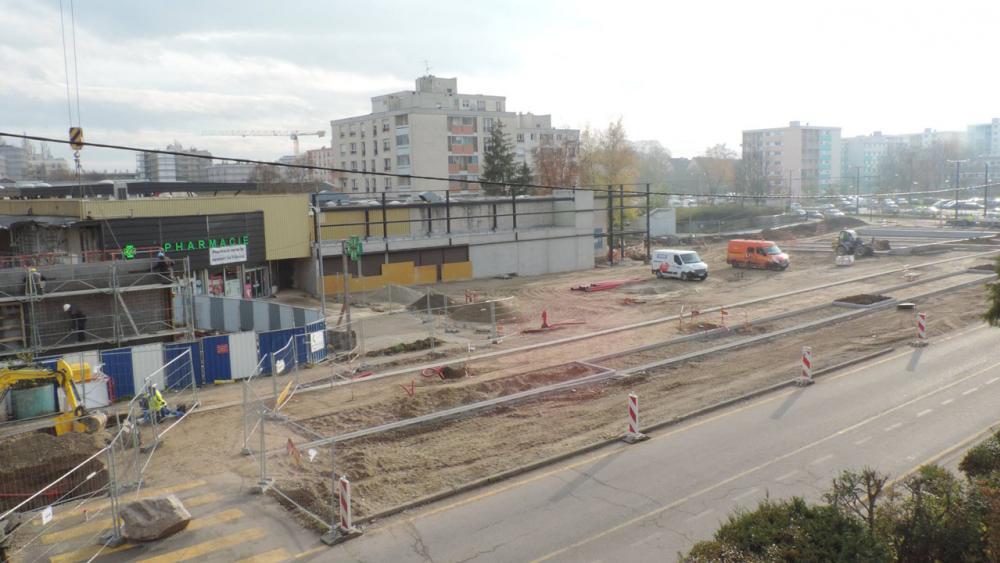 Avancement du chantier début 2014. - Crédit : Centre social et culturel