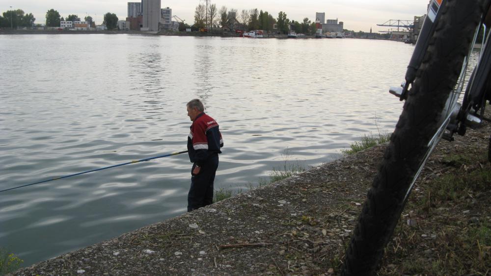 Après la fermeture du quai, prévue en juin 2013, ils ne pourront plus lancer leur ligne dans le Rhin depuis ce quai.
