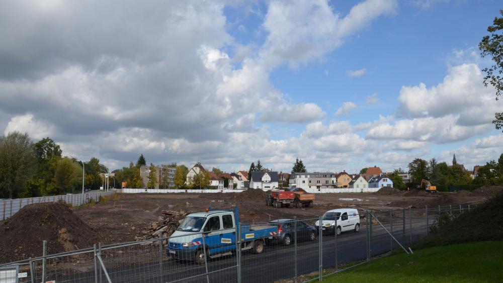 Les travaux ont débuté il y a quelques jours sur le futur site de l'école européenne, qui ouvrira à la rentrée 2015.