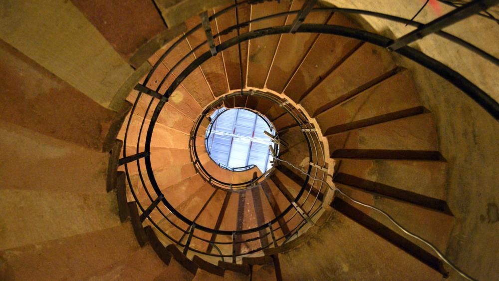 Un second escalier viendra compléter l'escalier historique d'ici à 2017.