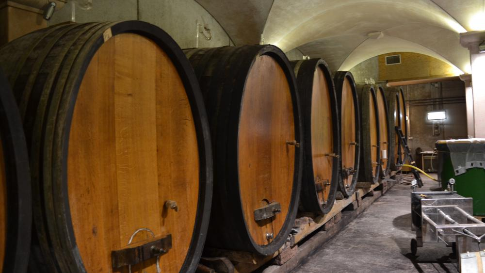 Le vin reste entre 6 semaines et plusieurs mois dans les tonneaux pour fermenter