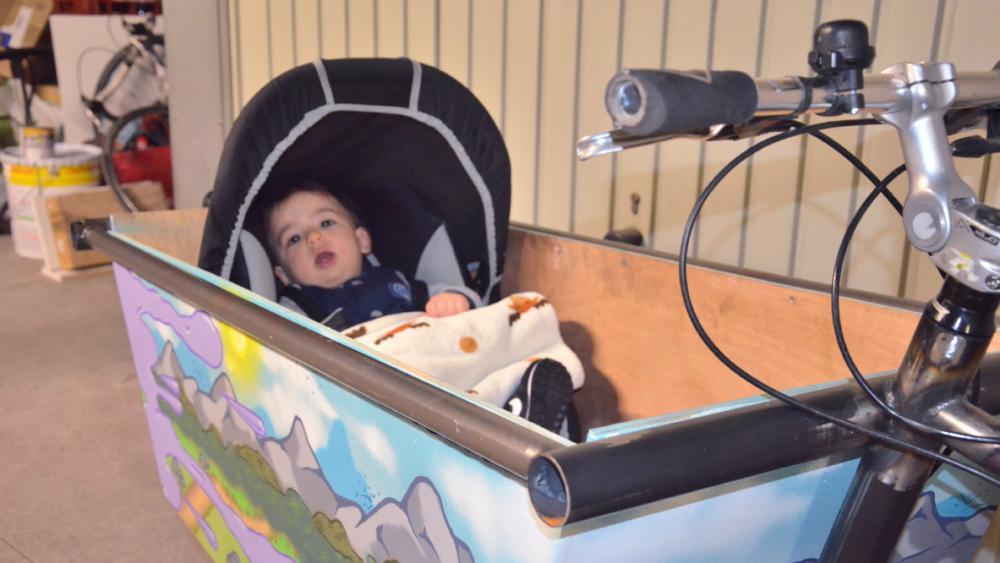 La naissance de Milo, 9 mois, est l'élément déclencheur du projet.