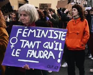 Mobilisés contre les violences faites aux femmes