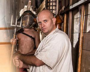 Stéphane, entraîneur de gladiateur