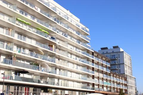Nouveaux immeubles Port du Rhin