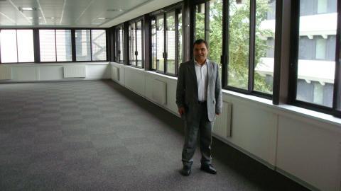 Murat Ecran, directeur de l'établissement.