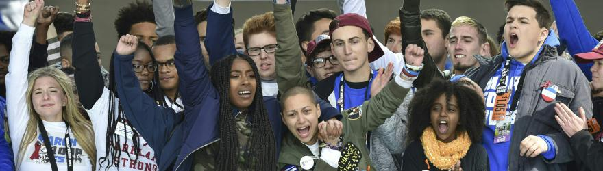 Les lycéens de Parkland, leaders de la contestation