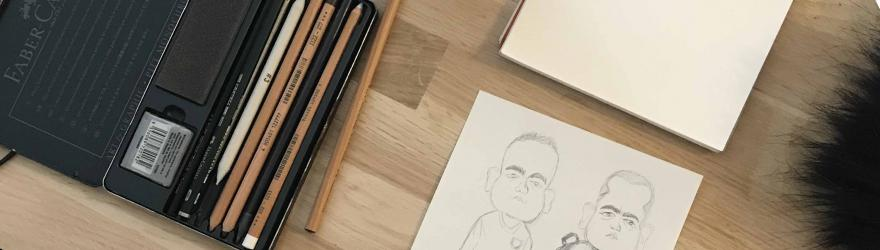 Le crayon et la lacrymo