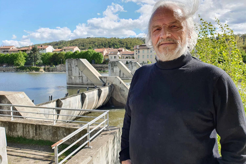 Roberto Epple est le président de l'association «SOS Loire vivante» ; il se bat pour l'aménagement des barrages