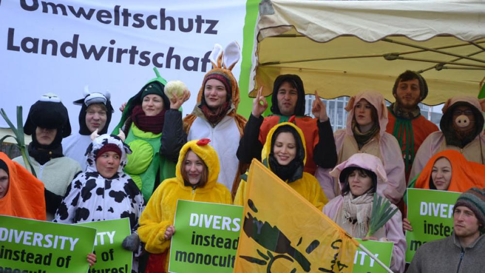 Le mouvement français de Slow Food était représenté par le Convivium Schnackele et le Slow Food Youth Network