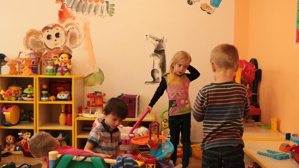 Pour les plus petits, des jeux sont à disposition, pour une séance loisirs avant de se mettre au travail. /Photo Marine Godelier