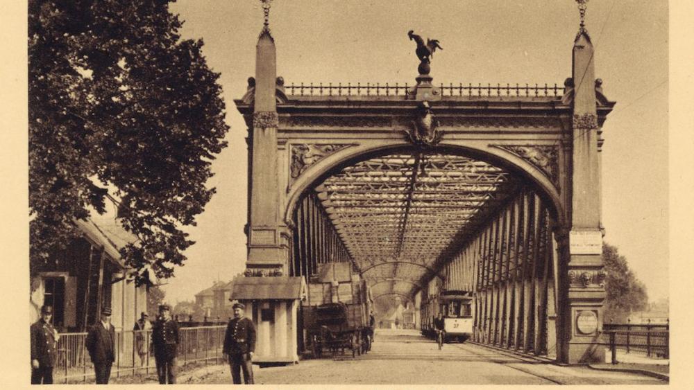La ligne 1 du tramway a cessé de fonctionner en 1918. Crédit archives CUS