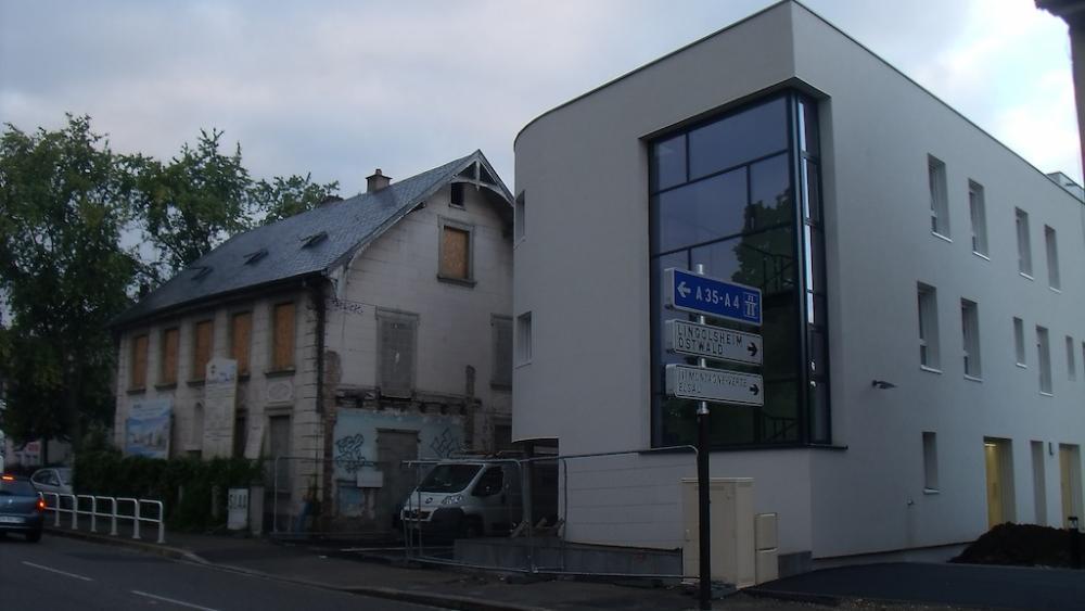 L'accueil de jour ainsi que le centre d'hébergement et de réinsertion se trouveront dans le nouveau bâtiment.