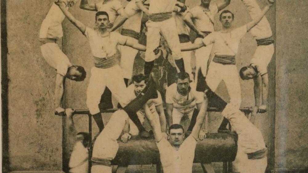 La première société de gymnastique d'Illkirch-Graffenstaden, créée en 1868. Photo DR