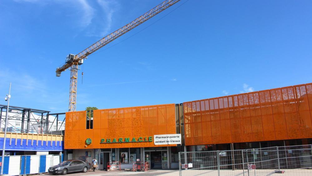 Les travaux du Galet, jouxtant la pharmacie, se sont achevés mi-septembre.